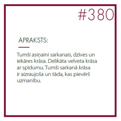 Kinetics Hedonist #380 apraksts